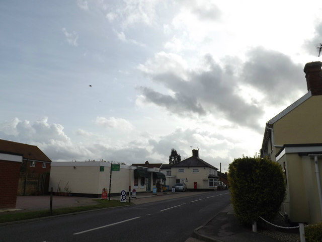 B1113 Finningham Road, Old Newton