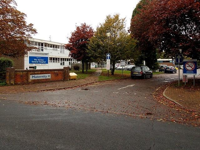 Maternity Department entrance, Banbury
