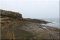 NU2617 : Coast at Rumbling Kern by DS Pugh