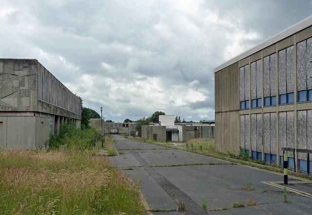 Derelict army buildings, Queen's Avenue, Aldershot