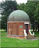 SU8651 : Observatory, Queen's Avenue, Aldershot by Stephen Richards