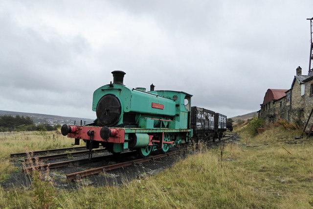 Blaenavon Big Pit Colliery railway