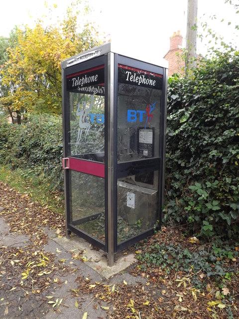 Telephone Box on Blacksmiths Lane