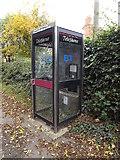 TM0960 : Telephone Box on Blacksmiths Lane by Adrian Cable