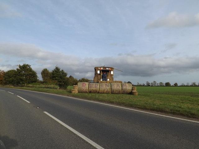 A1120 & Debenham Young Farmers display