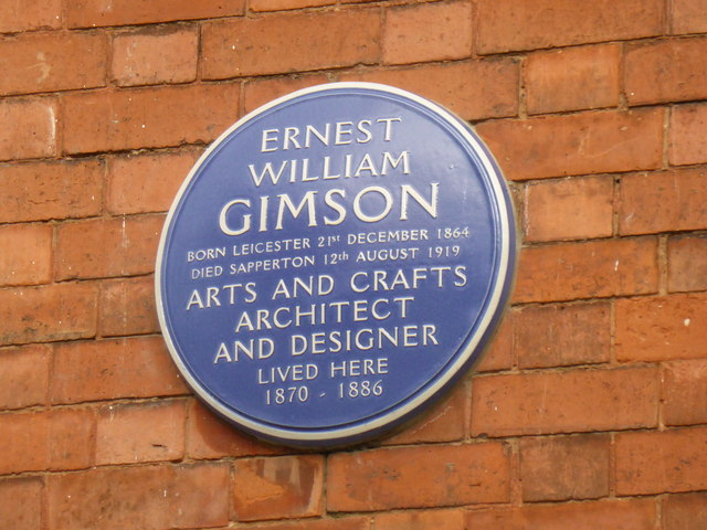 Blue Plaque for Ernest William Gimson