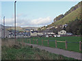 SS9389 : Rugby ground, Ogmore Vale by eswales