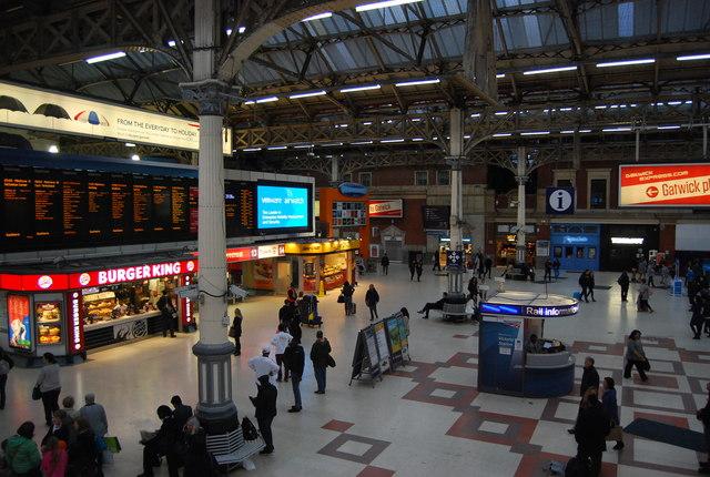 Forecourt, Victoria Station