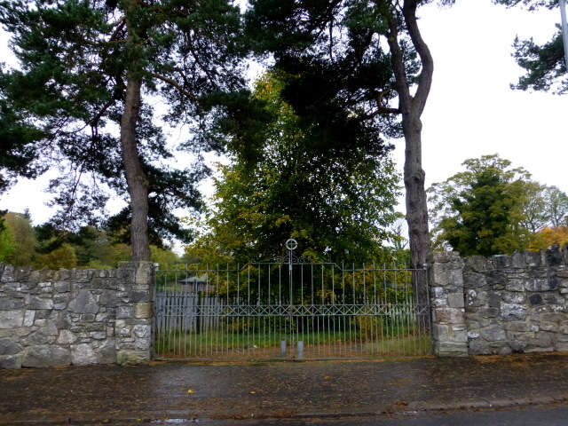 Convent gates, Omagh by Kenneth  Allen