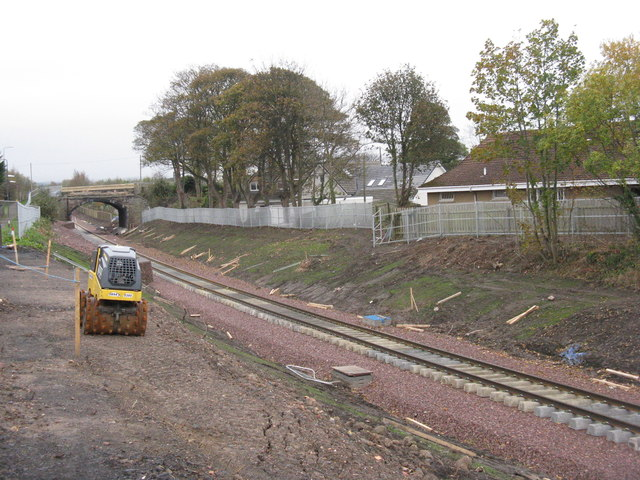 The Borders Railway at Newtongrange