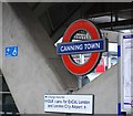 TQ3981 : Canning Town Underground Station by N Chadwick