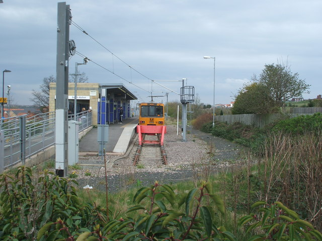 South Hylton Metro station, Tyne & Wear