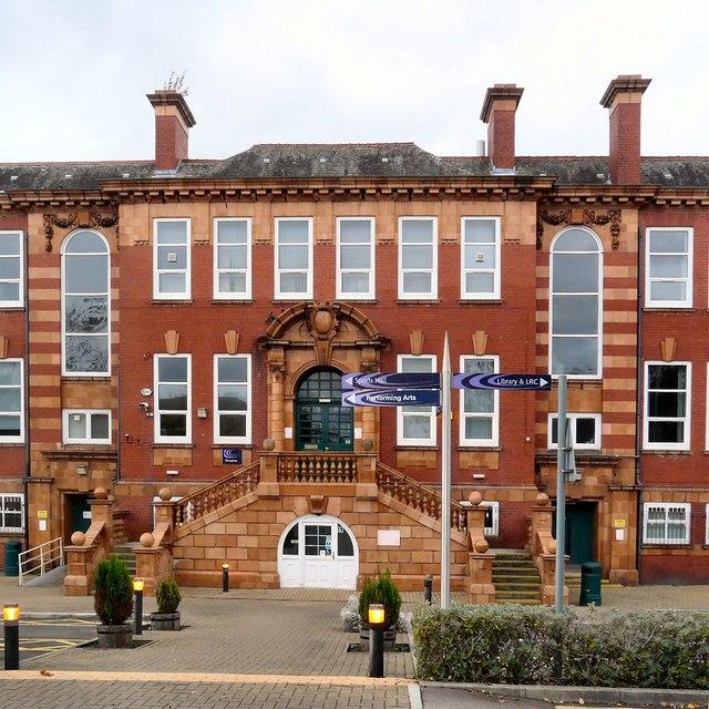 Hyde Grammar School: Main Entrance