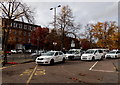 SP4540 : White taxis in Banbury by Jaggery