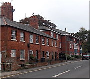 SU0061 : Houses at the SW end of Commercial Road, Devizes by Jaggery