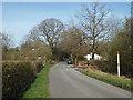 SP0874 : Barkers Lane nears Tanner's Green by Robin Stott