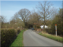 SP0874 : Barkers Lane nears Tanner's Green by Robin Stott