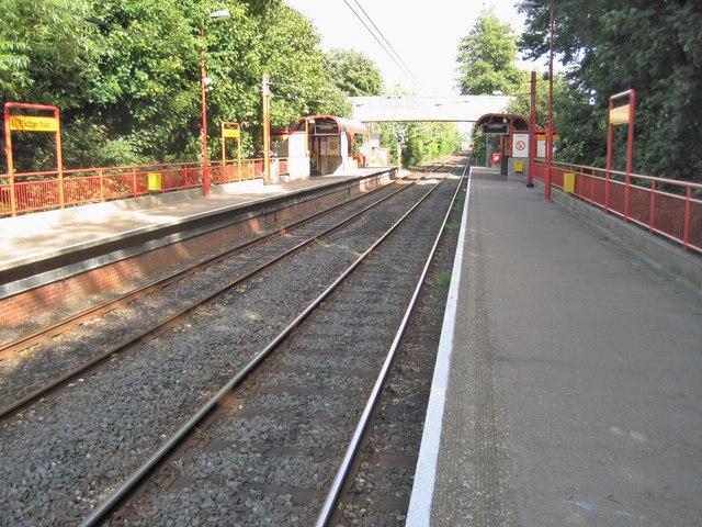 Hadrian Road Metro station, Tyne & Wear