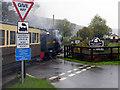 SN6479 : Capel Bangor level crossing by John Lucas