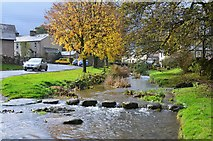 NY6214 : Stepping stones, Crosby Ravensworth by Jim Barton