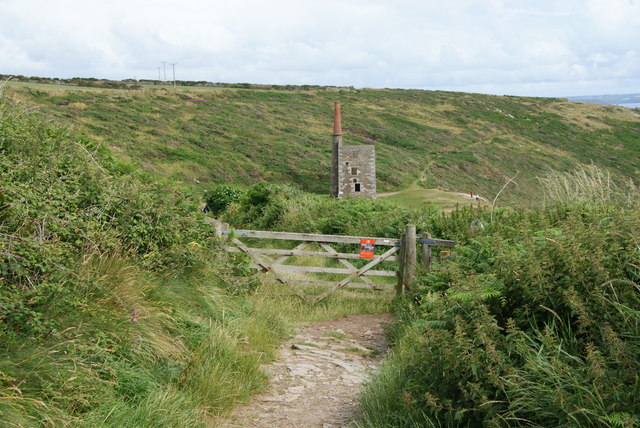 The South West Coast Path on Rinsey Head