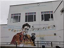 TM5176 : George Orwell mural by Mat Tuck
