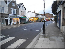 TQ1472 : Shops on Staines Road, Twickenham by David Howard