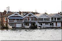 SU7682 : Wharf Lane, Henley-on-Thames by Jo Turner