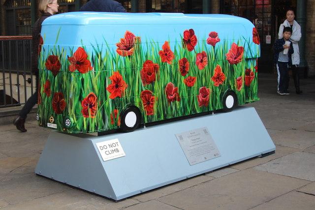 Bus Art, 'Poppy Fields'