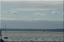 TQ8485 : View of the Hoo Peninsula, Kent from Leigh-on-Sea #2 by Robert Lamb