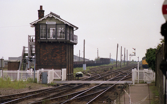 March - East Junction Signal Box