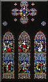 TQ8713 : West Window, Ss Mary & Peter church, Pett by Julian P Guffogg