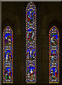 TQ8611 : East Window, St Andrew's church, Fairlight by Julian P Guffogg