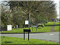 SP0775 : Public domain, southeast corner of Gorsey Lane and Alcester Road, Wythall by Robin Stott