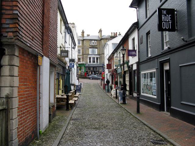 Tunbridge Wells:  Castle Street