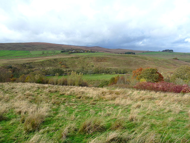 View across Redesdale