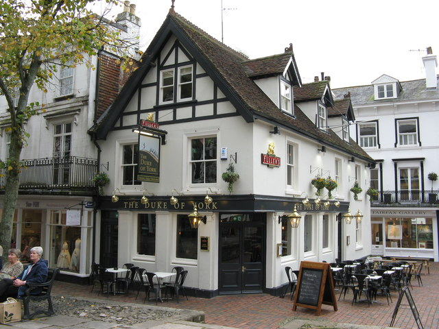 Tunbridge Wells:  the 'Duke of York'