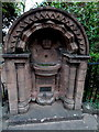 SO5012 : Diamond Jubilee drinking fountain in Overmonnow, Monmouth by Jaggery