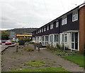 SO5012 : Hexagons aplenty, Cinderhill Street, Monmouth by Jaggery