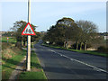 TA1667 : Approaching National Cycle Route 1 by JThomas