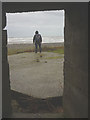 SD2161 : Looking out of the old fortifications, South Walney by Karl and Ali