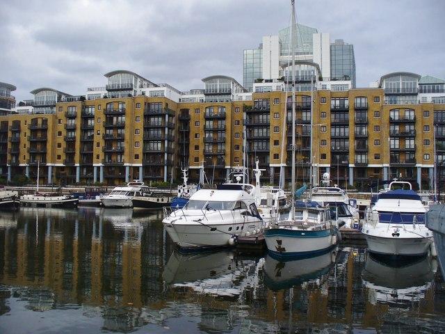 St Katharine Docks - East Dock