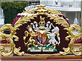 TQ3380 : Gloriana - Royal Coat of Arms by Colin Smith
