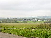 TR1236 : Folkestone Racecourse by Robin Webster