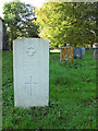 TF7924 : WW2 grave in St Andrew's churchyard by Evelyn Simak