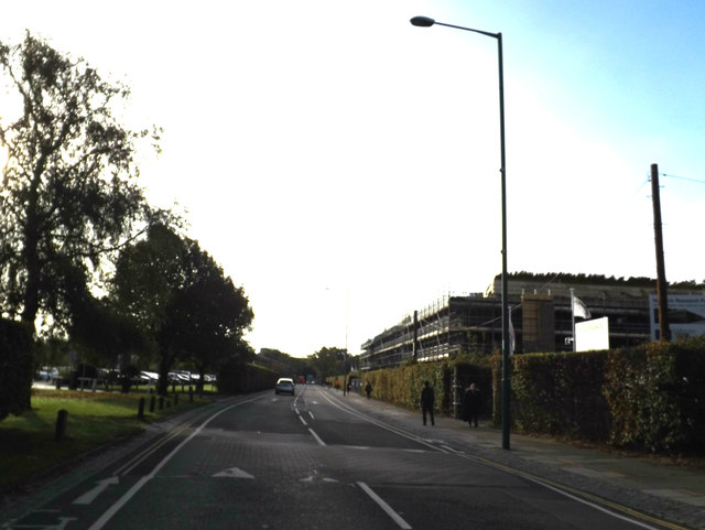 University Drive at the University of East Anglia