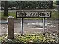TG1907 : The Avenues Sign by Adrian Cable