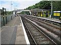 SJ2289 : Manor Road railway station, Wirral by Nigel Thompson