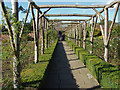 TQ1352 : Polesden Lacey walled gardens by Alan Hunt
