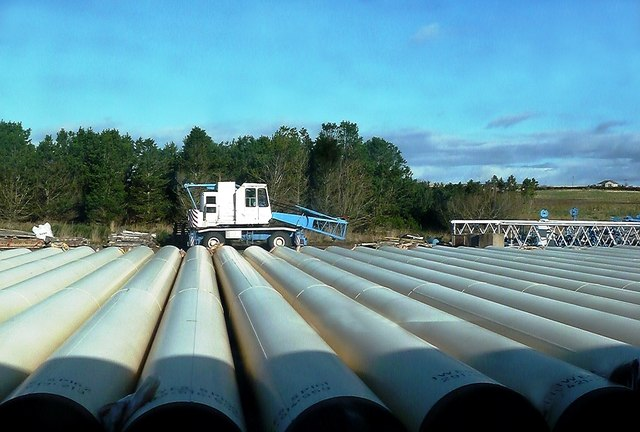 Subsea Pipes at Georgemas Junction